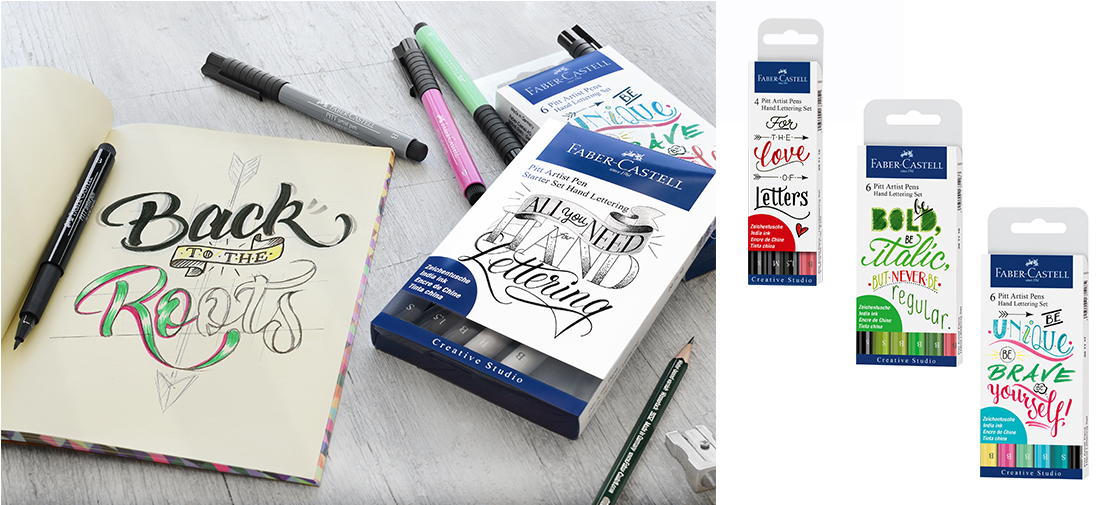 Faber Castell Hand lettering